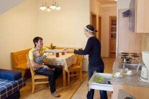 Gästezimmer Selbstversorger